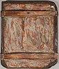 Ikon, tempera på pannå, vetka, ryssland, 1850 1870 tal