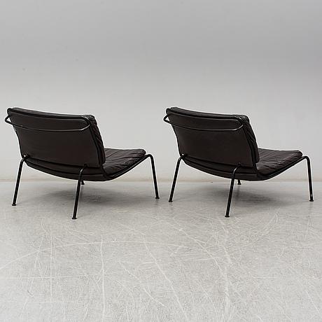 Piero lissoni, a pair of 'frog' easy chairs, living divani.