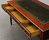 A mid 20th century gustavian style writing desk