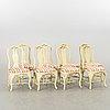 Matgrupp 9 dlr rokoko stil gärsnäs möbler 1950 tal