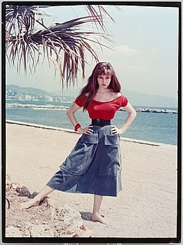 KARY LASCH, C-print of Brigitte Bardot in Cannes.