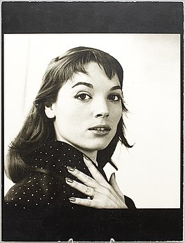 KARY LASCH, photograph of woman in blouse with dots.