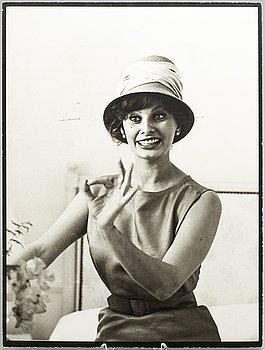 KARY LASCH, photograph of Sophia Loren.