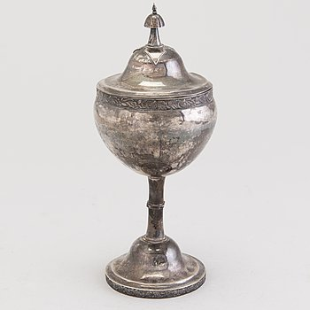SUGAR BOWL, silver, Vasa 1915, Jaakko Keturi.