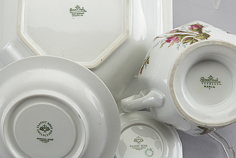 "classic rose collection"" dinner service"