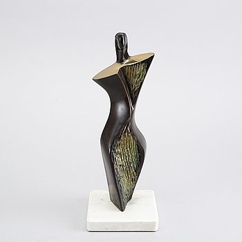 STAN WYS, a signed and numbered bronze. 1999.