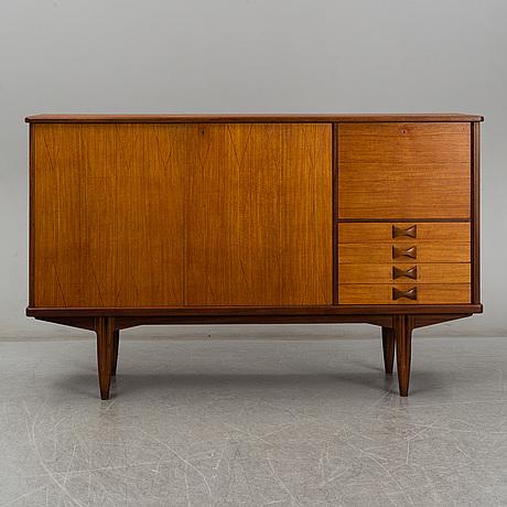Sideboard med barskÅp, sverige, 1950 tal