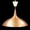 """Paavo tynell, an attributed ceiling lamp, """"j1965"""", probably produced on licens by awf (arnold wiigs fabrikker) norway."""