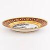 A porcelain plate. the imperial porcelain factory, saint petersburg 1809-1817.