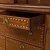 An early 19th century cupboard