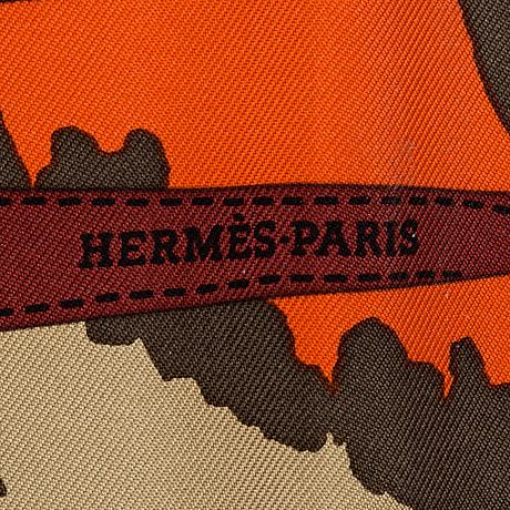 """HermÈs, scarf, """"monsieur & madame"""""""