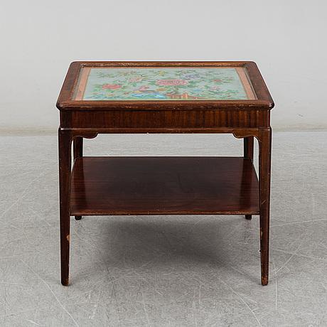 A mid 20th century sofa table