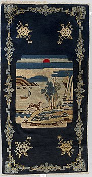 MATTA, semiantik Kina, Baotou, ca 148 x 76 cm.