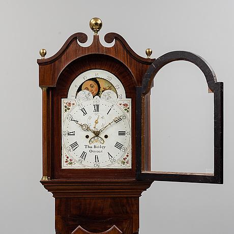 An english longcase clock, first half of the 19th century