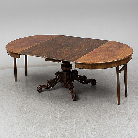Dining table, second half of the 19th century