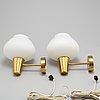 VÄgglampor ett par, asea, 1900 talets mitt