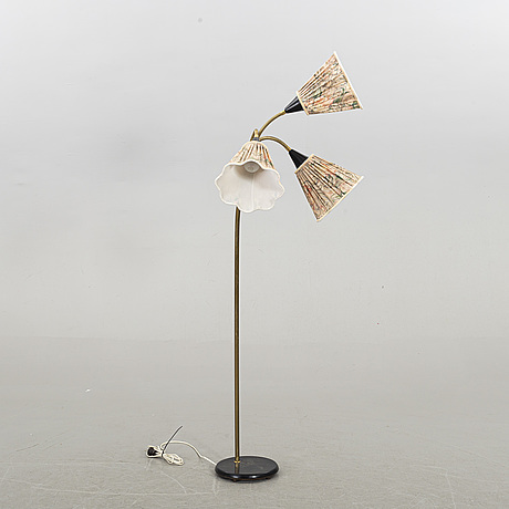 A mid 20th century floor lamp