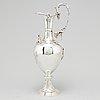 Joseph angle, vinkanna, silver, london 1860.