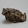 Paul hoff, a stoneware figurine, gusrtavsberg for wwf