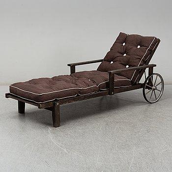 ELSA STACKELBERG, däckstol/vilstol, Fri Form, Edsbruk,  1900-talets andra hälft.