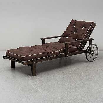ELSA STACKELBERG, a pine deck chair from Fri Form, Edsbruk.