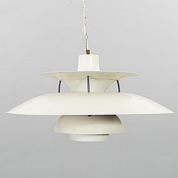 "POUL HENNINGSEN, taklampa, ""PH 5"", för Louis Poulsen, Danmark."