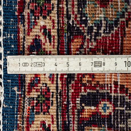 A carpet, kashmar, signed, ca 383 x 303 cm