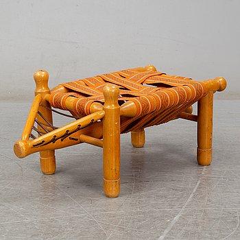 A stool by Erik Höglund for Boda Trä.