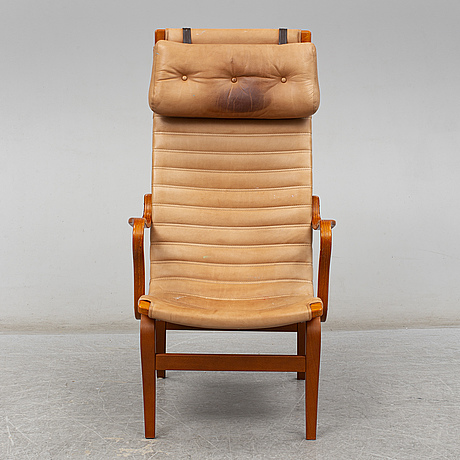 Armchair 'eva hög' by bruno mathsson for dux, late 20th century