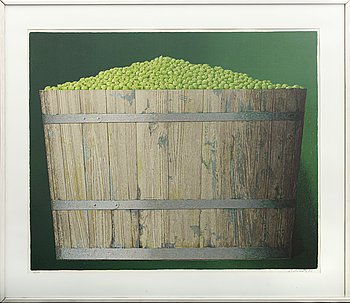 PHILIP VON SCHANTZ, colour lithographe, signed and numbered 48/160, dated -81.