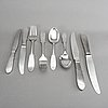 Gundolph albertus, a set of 43 pcs cutlery