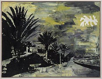 Nina Kleivan, oil on canvas, verso signed N.M. Kleivan.