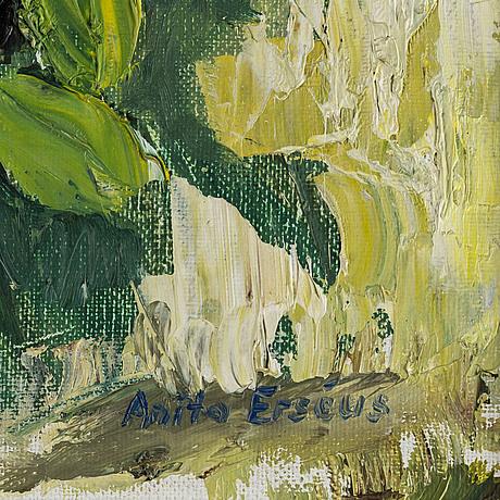 Anita ersÉus, oil on canvas, signed