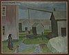 Veikko vionoja, öljy kankaalle, signeerattu ja päivätty 69