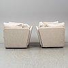 A pair of 'lovesits' habitat compact sofa, 21st century