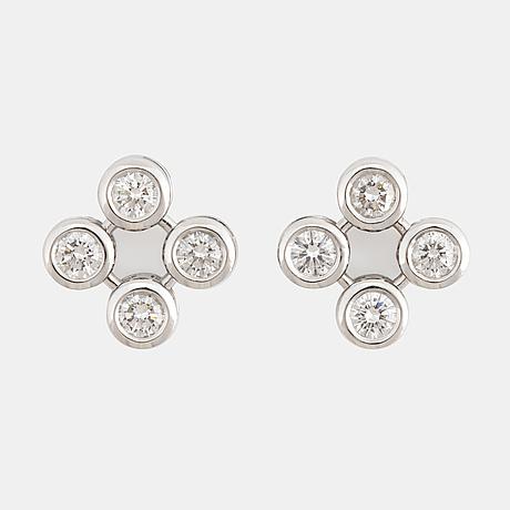 Brilliant-cut diamond theo fennell earrings.