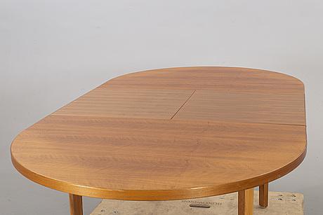 A mid 20th century teak dining table