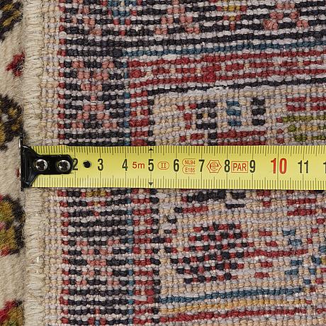 Carpet, old, sarouk, 86x310 cm.