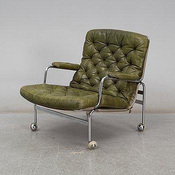 A 'Karin' easy chair by Bruno Mathsson, Dux, Sweden.