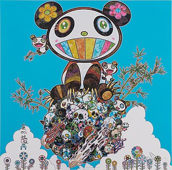 TAKASHI MURAKAMI, offset. signed and numbered 26/300.
