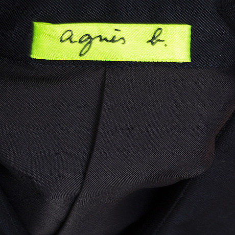 Agnes b, shirt, limited edition, numbered 134/400. in cooperation with navin rawanchaikul and rirkrit tiravanija.