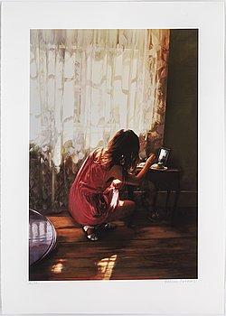 KARIN BROOS, giclée print, signed Karin Broos and numbered 18/90 in pencil.