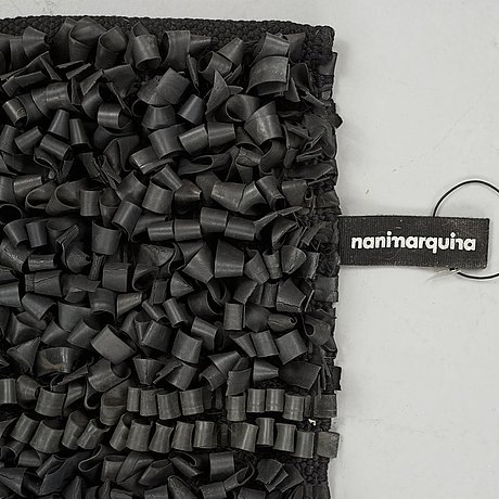 "Ariadna & nani miquel & marquina, matto, ""bicicleta rug"", handmade of recycled rubber, designed for nanimarquina."