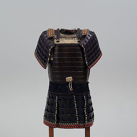 A japanese armor, partly  meiji (1868 1912), later additions