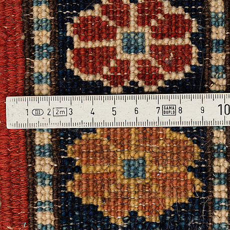 A carpet, oriental, around 365 x 264 cm