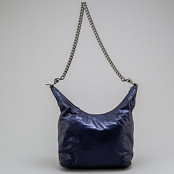 "GUCCI, ""Soho Metallic Leather Chain Shoulder Bag""."