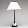 K andersson, a silver table lamp, stockholm, 1925