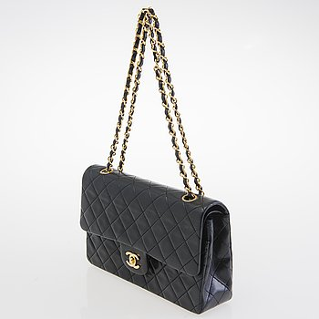 CHANEL Vintage Double Flap Bag.