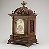 A baroque style mantel clock, beginning of the 20th century, germany