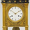 A french mantel clock, first half of the 19th century